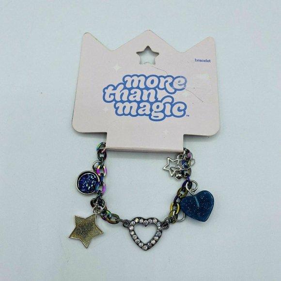 Girls Bracelet Multi Color Stars Hearts